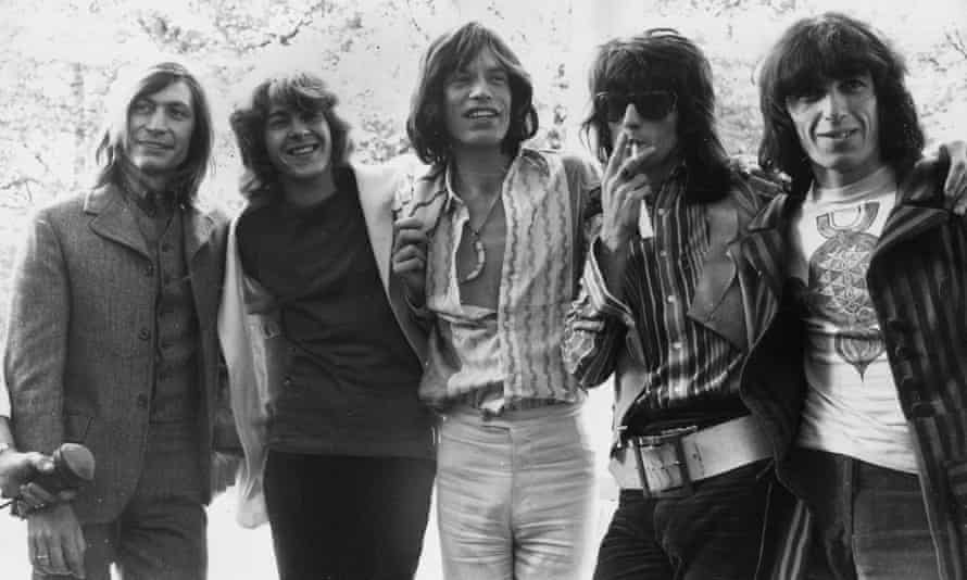 In their pomp: the Stones in 1969 (from left to right) Charlie Watts, Mick Taylor, Mick Jagger, Keith Richards and Bill Wyman.