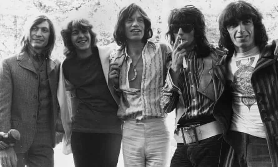 The Stones around the time of the recording of You Can't Always Get What You Want.