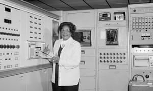 Mary Jackson at work in NASA's Langley Research Centre.