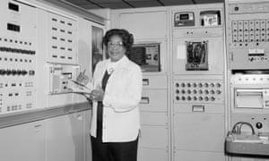 Mary Jackson working at Nasa.