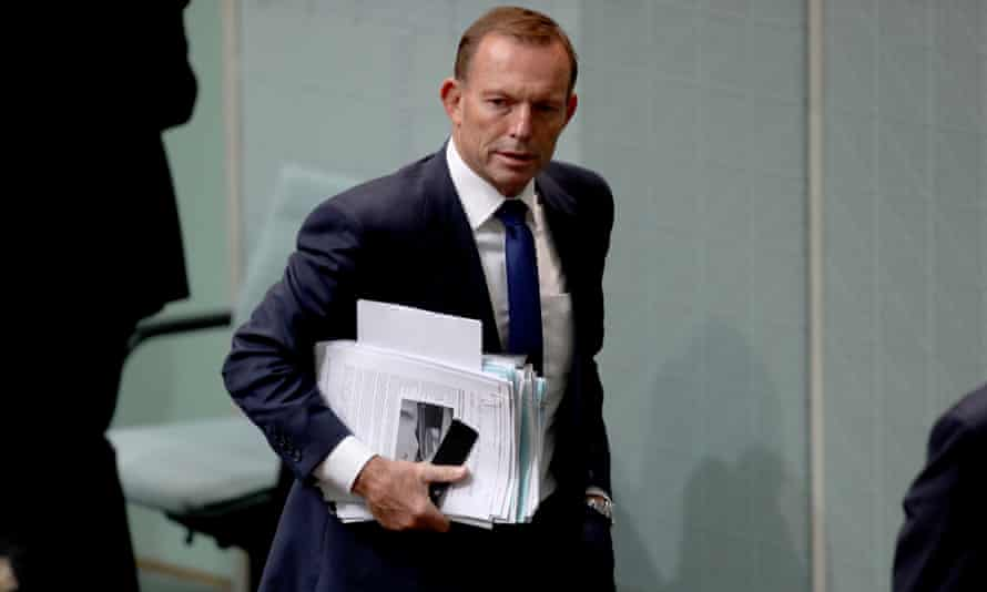Abbott in question time