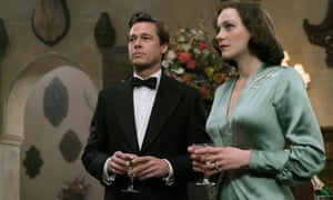 'His flattest performance since Troy': Brad Pitt and Marion Cotillard in Allied