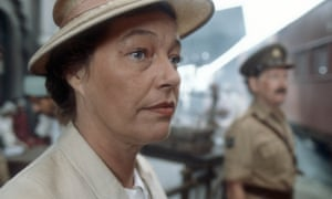 Rosemary Leach as Aunt Fenny in The Jewel in the Crown.