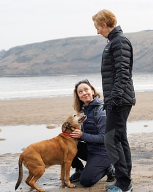 CI1A4769-Edit Journalist Sarah Wharton on the beach in Runswick Bay