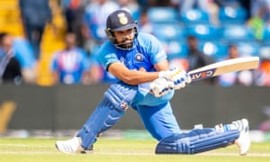 Rohit Sharma struck 103 against Sri Lanka – his fifth century of the tournament.