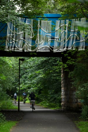 Lucy Wayman's cycle path commission