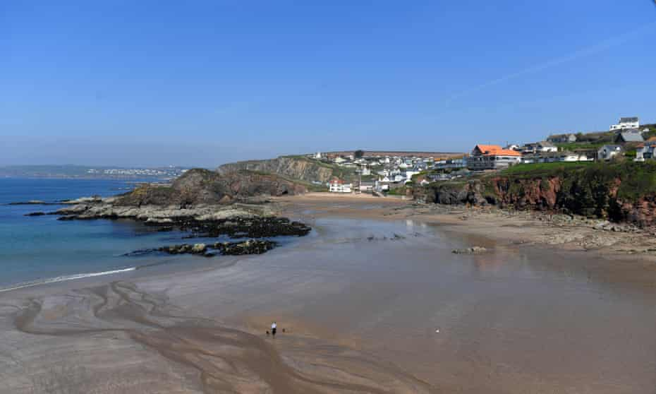 Hope Cove in Devon, where 75% of properties are either second homes or holiday lets.