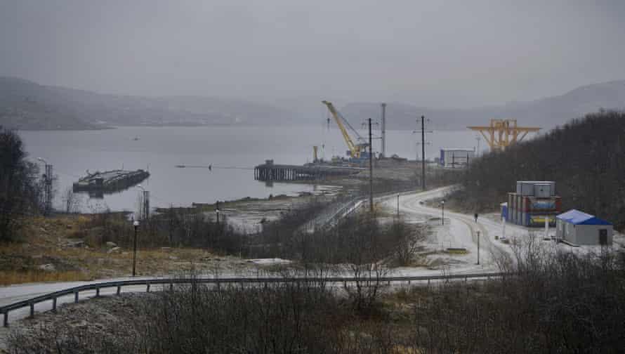 New facilities built at Andreyeva Bay
