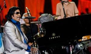 'I'm still singing' … Little Richard.