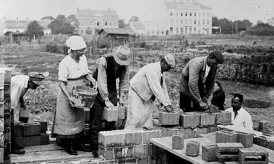 Vienna's DIY communities were 'the most widespread example of physical self-help in housing in the 20th century'.