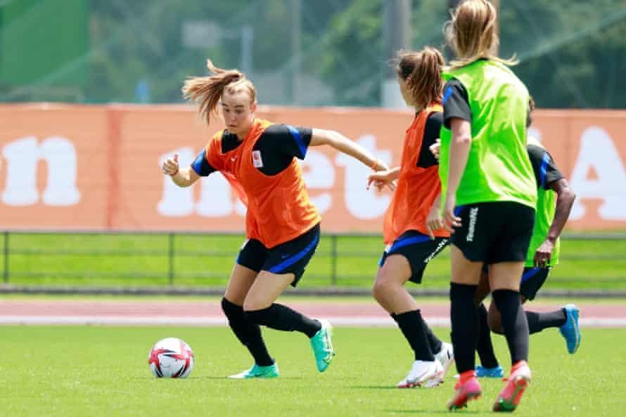 Jill Ruert je med pripravami na olimpijske igre trenirala z Nizozemsko.