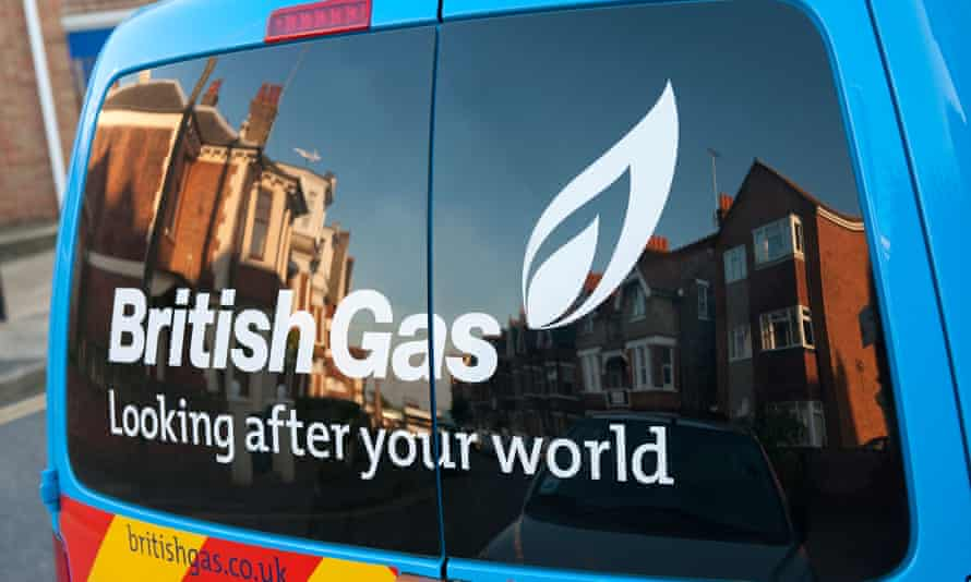 Failing to deliver on price … a British Gas service van.