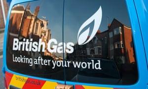 British Gas service van