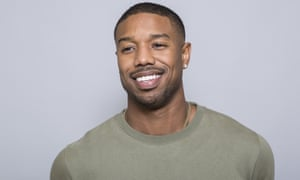 Michael B. Jordan in Beverly Hills earlier this year. Jordan's toughness on screen has been offset by an undeniably grounded charm off it.