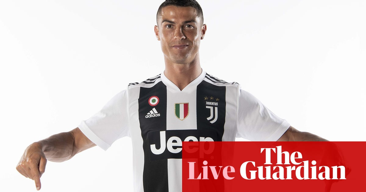 new concept f5b1f b1352 Ronaldo ready for 'brand new challenge' after Juventus ...