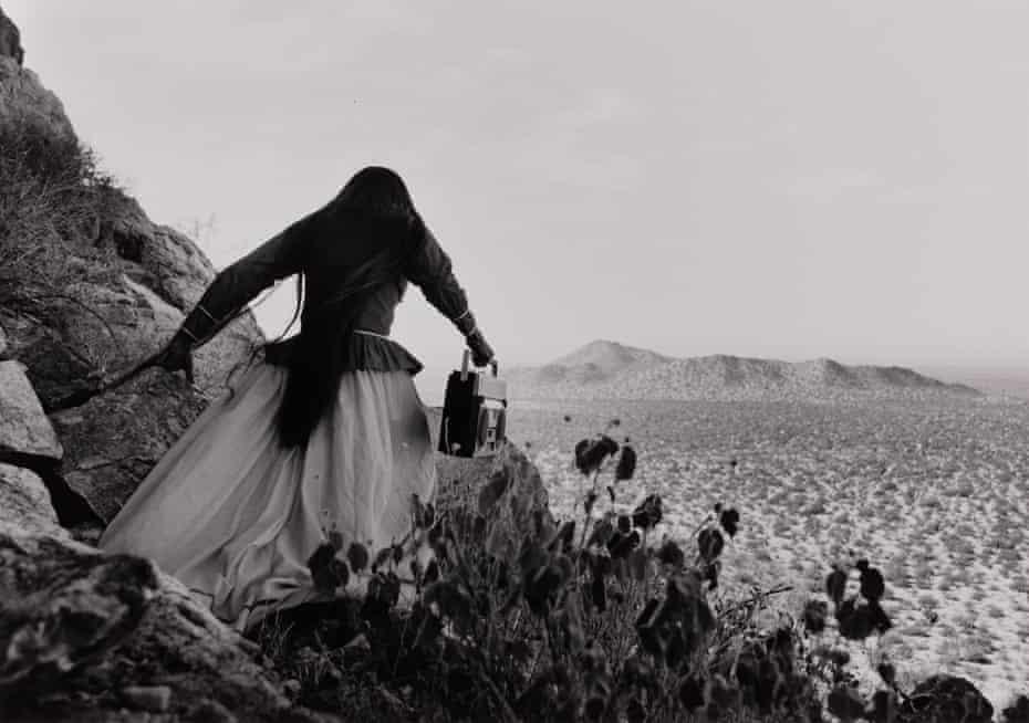 Angel Woman, Sonora Desert, 1979.