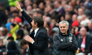 José Mourinho said of his spat with Antonio Conte: I think when a person insults another, you can expect a response. Or you can expect contempt, silence.'