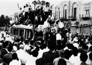 Pro-Shah sympathisers