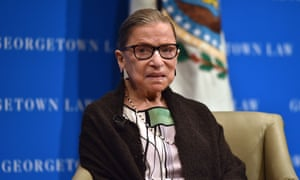 A court spokeswoman said Ginsburg was 'doing well' after spending two night at hospital.