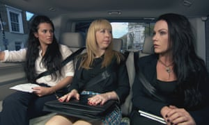 The women's team discuss how to turn a whelk stand into a pig's ear in The Apprentice.