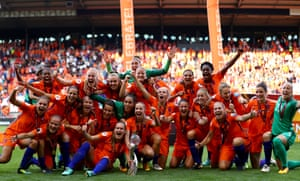 Holland are champions of Europe.