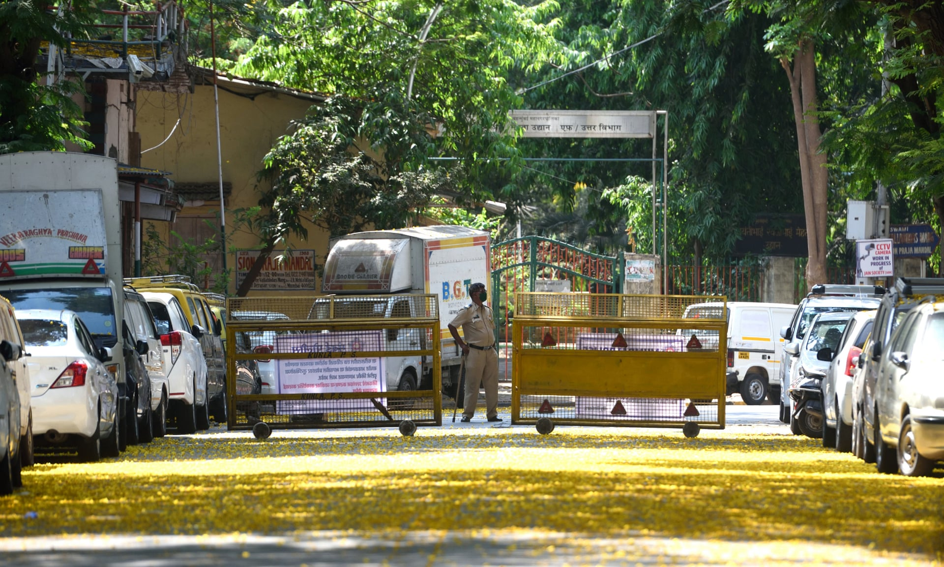 Shock in India at hospital footage of bodies lying next to Covid-19 patients