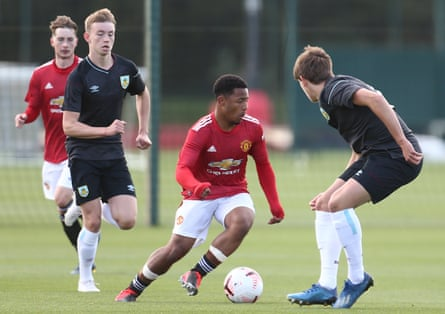 Dillon Hoogewerf signed for Manchester United after playing for Ajax's under-19s at 15.