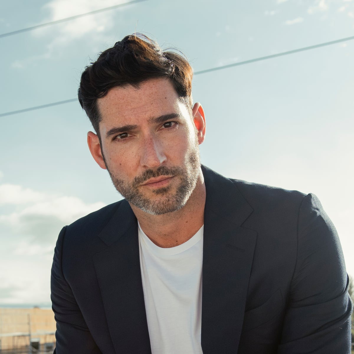 Lucifer S Tom Ellis I Don T Mind Being Remembered As Miranda S Boyfriend Television Radio The Guardian