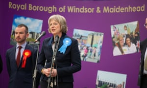 Theresa May, the home secretary, is the local MP.
