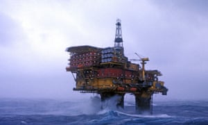 Brent Delta, one of the rigs that has shut down and will be removed, under Shell's plans.