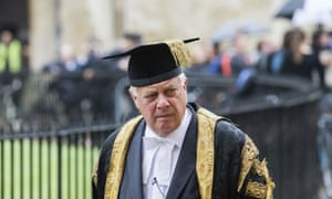 Chris Patten, chancellor of Oxford University.