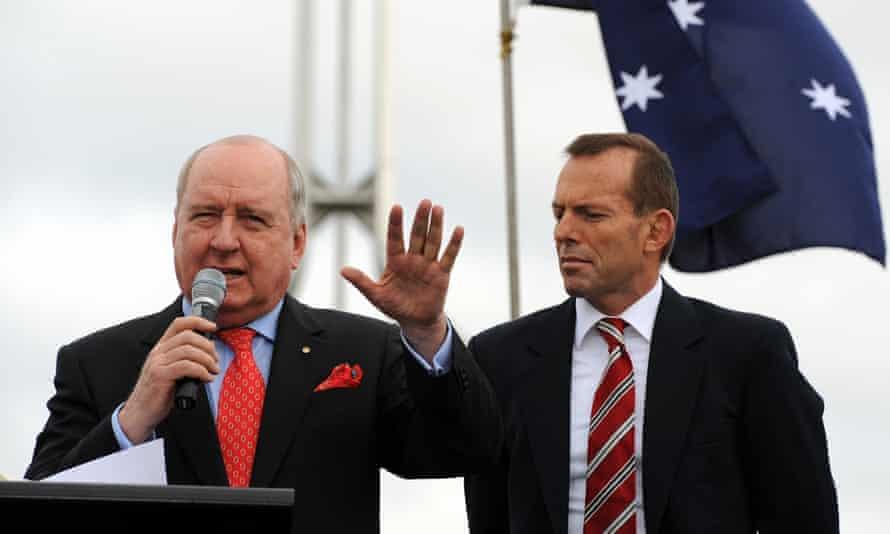Tony Abbott and Alan Jones