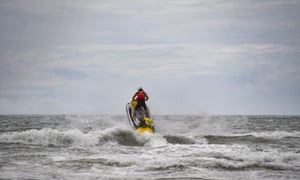'In these strange, meanwhile times, jetski man, I concluded, is Everyman.'