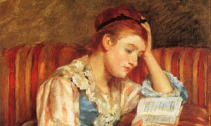 'Young woman reading', by Mary Cassatt.