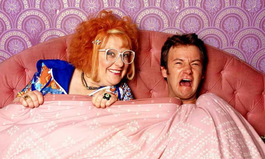 Burke and James Dreyfus in Gimme Gimme Gimme.