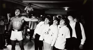 Ali and the Beatles, 1964, by Chris Smith. A mural-sized silver print, signed & numbered.Estimate: £20,000-30,000