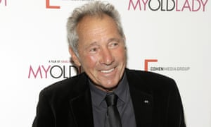 Israel Horovitz attends the premiere of My Old Lady in New York on 9 September 2014.