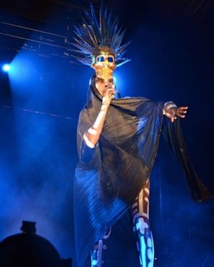 Grace Jones headlined last year's New York edition of the festival