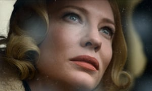 Cate Blanchett in Carol … Guardian readers' No 1 film of the year