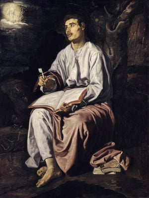St. John on the Island of Patmos by Diego Velazquez.