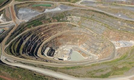 The North Mara mine in Tanzania