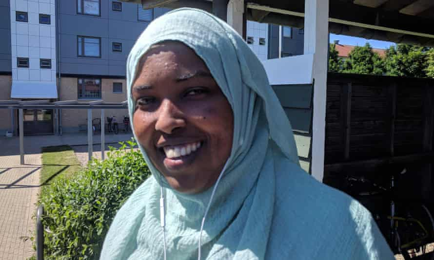 Istahil Hussein, 36, lives in Agervang, and is considering returning to Somalia.