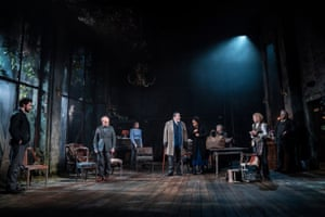 A thing of beauty … Rae Smith's set for Uncle Vanya.