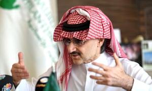 Saudi billionaire Prince Alwaleed bin Talal personally has a 4.45% stake in Twitter.