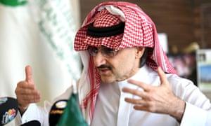 Billionaire Prince Alwaleed bin Talal