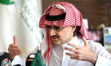 Saudi Arabia's billionaire Prince Alwaleed bin Talal has come to Donald Trump's financial rescue in the past.