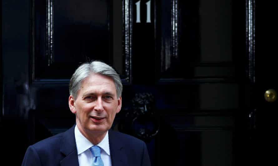 Britain's new chancellor, Philip Hammond