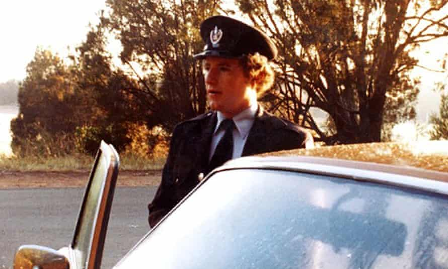 Greg Mullins in 1979 aged 20 in his NSW Fire Brigades uniform