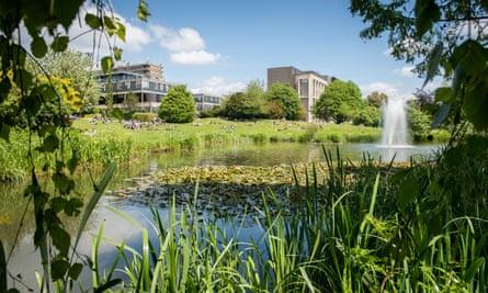 Bath campus grounds.