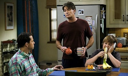 Sheen in Two And A Half Men.